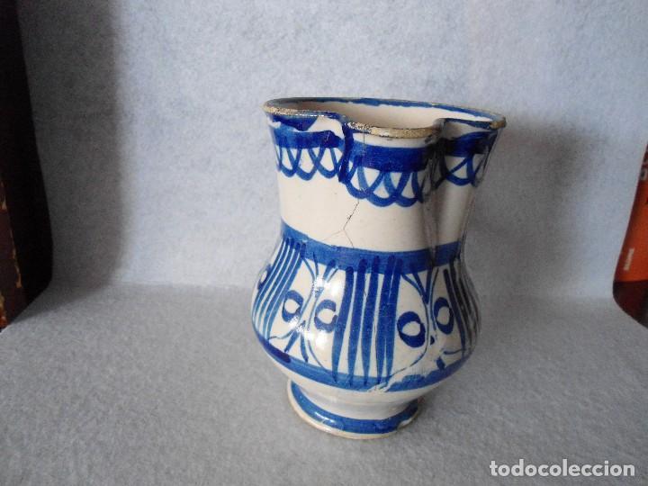 Antigüedades: ANTIGUA JARRA DE TALAVERA - Foto 10 - 112878931