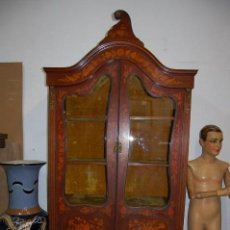 Antigüedades: PRECIOSA VITRINA HOLANDESA DE 1850. Lote 112879503