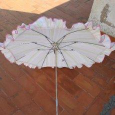 Antigüedades: SOMBRILLA PARA COCHECITO DE BEBE. Lote 112536539