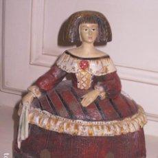 Antigüedades: FIGURA DE MUÑECA GOYESCA . Lote 112882159