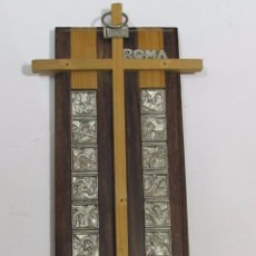 Antigüedades: CRUZ DE MADERA - CALVARIO DE JESÚS. Lote 112886983
