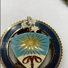 Antigüedades: MEDALLA RELIGIOSA O DE LOGIA DE MASONERÍA . Lote 112895839