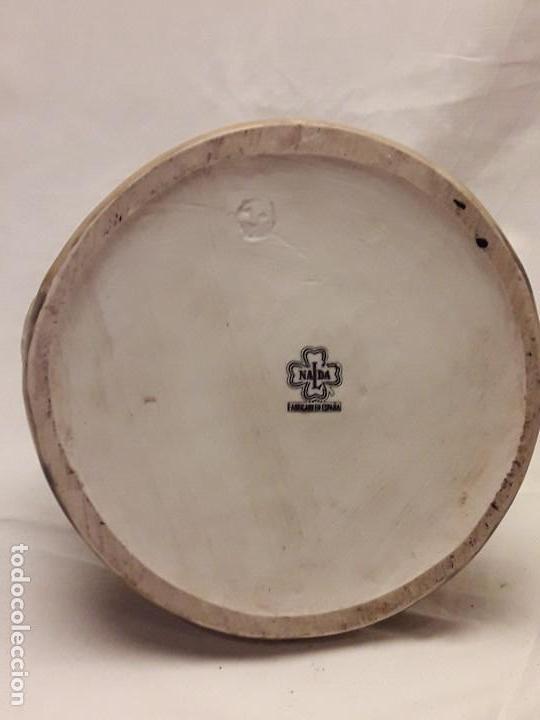 Antigüedades: Antigua jarra porcelana para vino Nalda Valencia - Foto 5 - 112939419