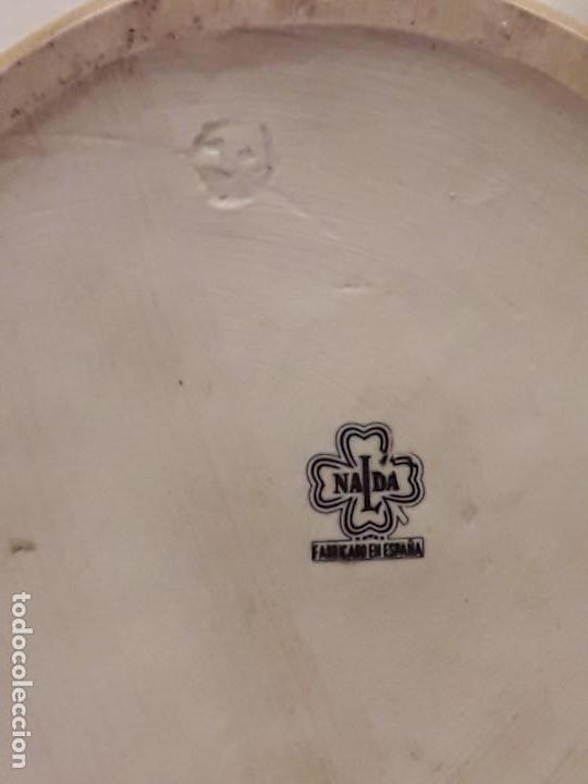 Antigüedades: Antigua jarra porcelana para vino Nalda Valencia - Foto 6 - 112939419