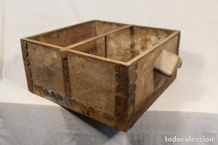 MEDIDA ANTIGUA DE GRANO (Antigüedades - Técnicas - Rústicas - Agricultura)