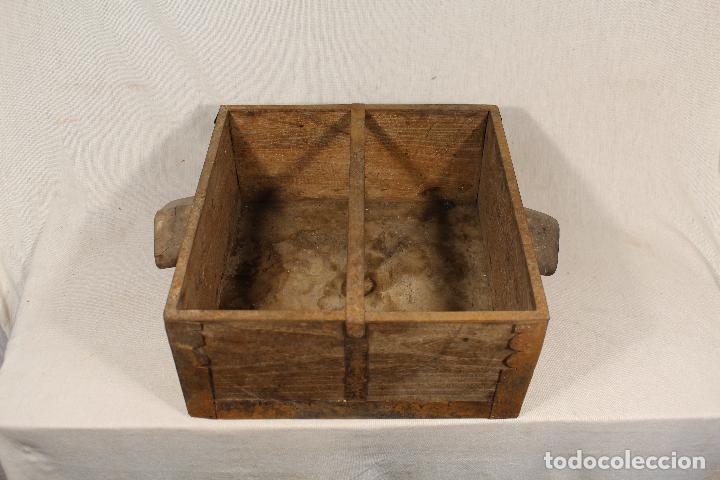 Antigüedades: medida antigua de grano - Foto 2 - 112949119