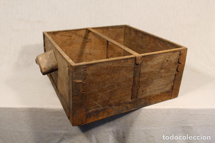 Antigüedades: medida antigua de grano - Foto 8 - 112949119