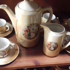 Antigüedades: JUEGO CAFE. Lote 112958424