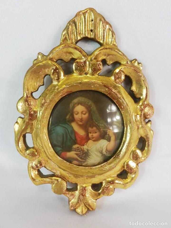 bellísimo marco de madera en pan de oro, imagen - Comprar Ornamentos ...