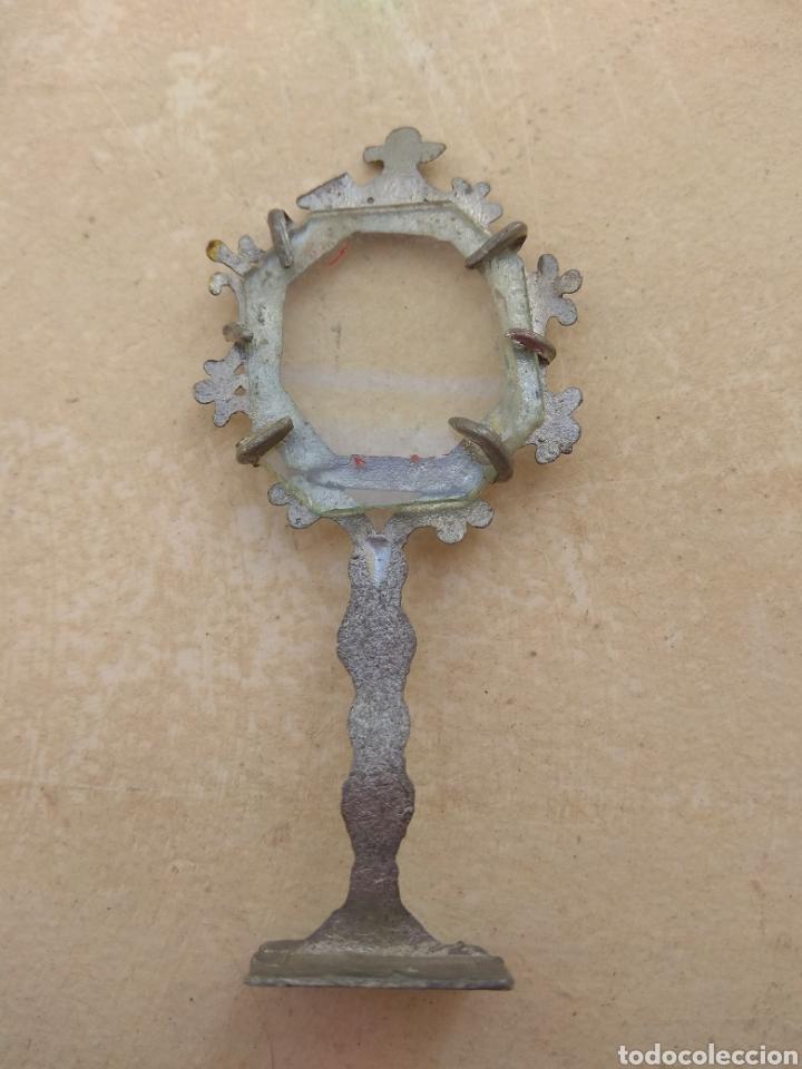 Antigüedades: Antigua Custodia - Relicario - Leer Descripción - - Foto 4 - 52759968