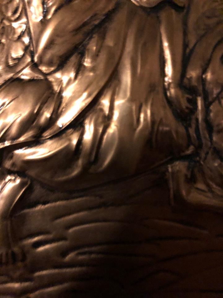 Antigüedades: Bajorelieve BronceCobre(Apostol con Compas) 27*31(85€) - Foto 8 - 104320291