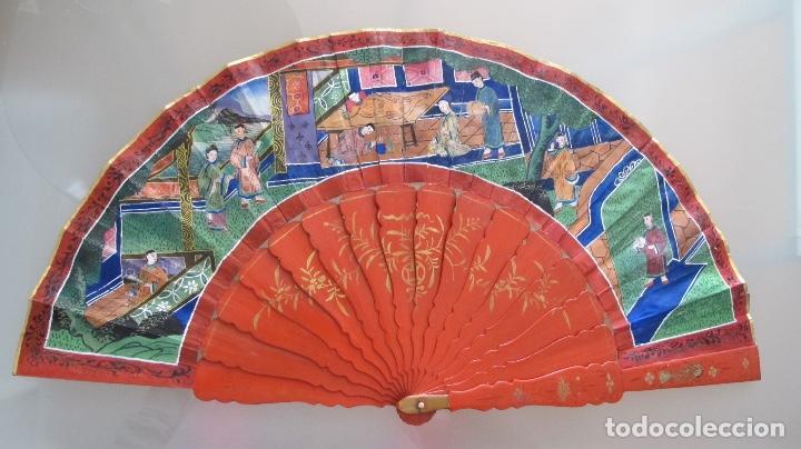 Antigüedades: Abanico chino de mil caras. c.1825 - Foto 2 - 112993607