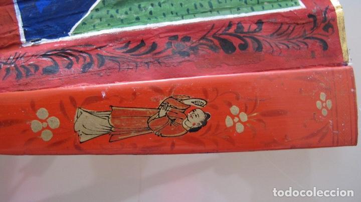 Antigüedades: Abanico chino de mil caras. c.1825 - Foto 4 - 112993607