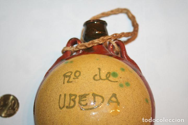 Antigüedades: ANTIGUA CANTIMPLORA DE PARED *** DECORACION *** CERÁMICA DE ÚBEDA - Foto 2 - 112997435