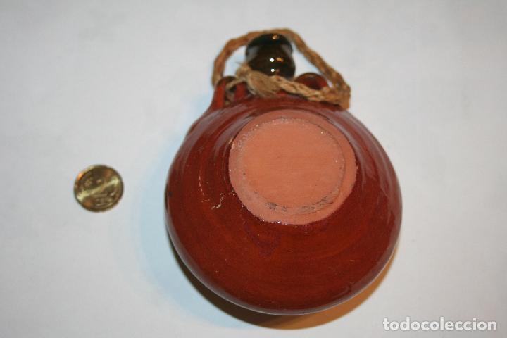 Antigüedades: ANTIGUA CANTIMPLORA DE PARED *** DECORACION *** CERÁMICA DE ÚBEDA - Foto 3 - 112997435