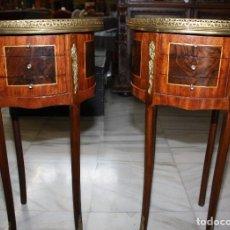 Antigüedades: PAREJA DE MESITAS ESTILO LUIS XVI.REF,6194. Lote 113011531