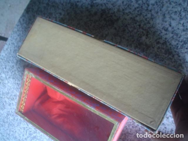 Antigüedades: lote de 3 cajas chinas antiguas para regalo interior seda xix - Foto 3 - 113015639