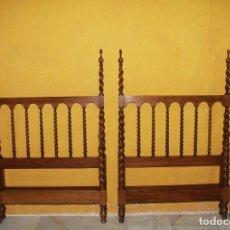 Antigüedades: PAREJA DE CAMAS RENACIMIENTO.REF:6198. Lote 113016687