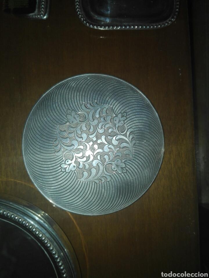 Antigüedades: Juego de tocador completo plata de ley - Foto 6 - 113027107