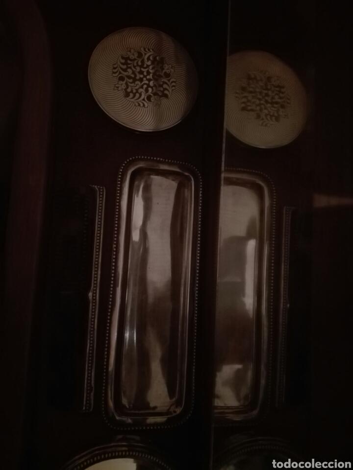 Antigüedades: Juego de tocador completo plata de ley - Foto 9 - 113027107