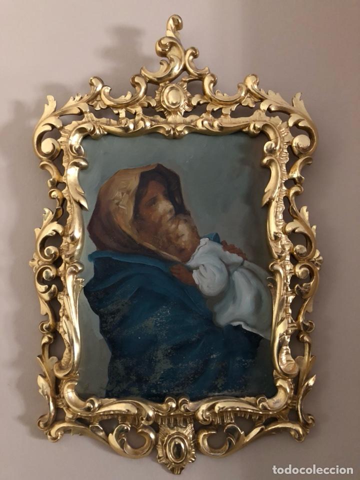 magnifico marco barroco tallado antiguo dorado - Comprar Marcos ...
