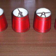 Antigüedades: 4 MINI PANTALLAS DE PINZA.. Lote 113035343