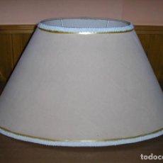 Antigüedades: PANTALLA OVALADA PARA LAMPARA.. Lote 113035659