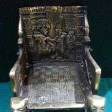 Antigüedades: SILLA EGIPCIA. Lote 113042535