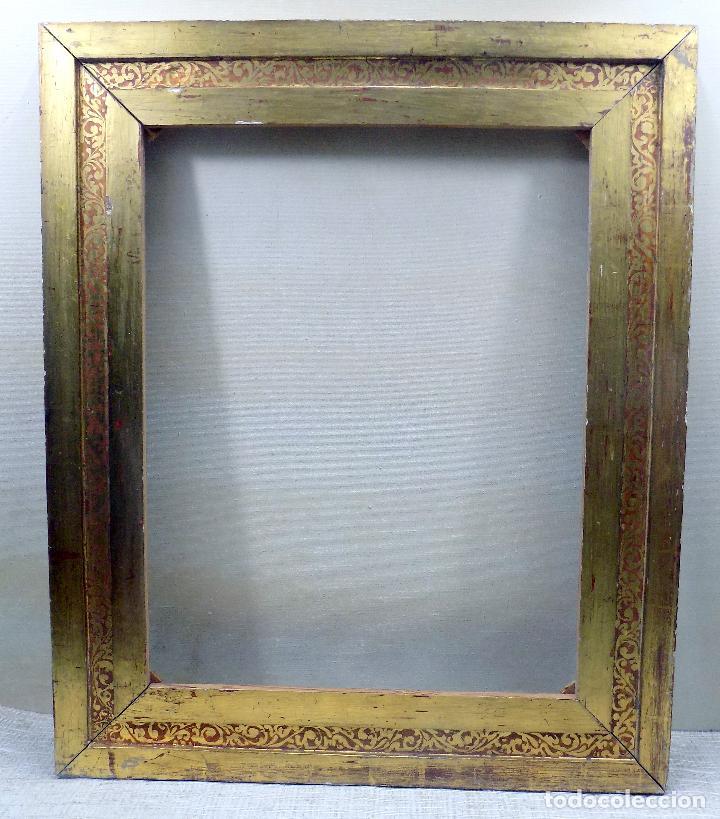 antiguo marco , bonita decoracion, pan de oro, - Comprar Marcos ...