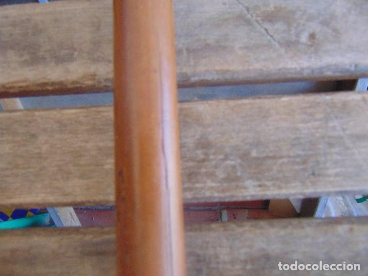Antigüedades: ANTIGUO BASTON CON MANGO DE MADERA ESTOQUE Y CUERPO DE CAÑA - Foto 10 - 113074367