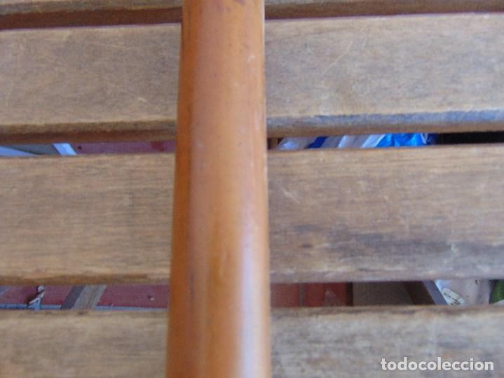 Antigüedades: ANTIGUO BASTON CON MANGO DE MADERA ESTOQUE Y CUERPO DE CAÑA - Foto 11 - 113074367