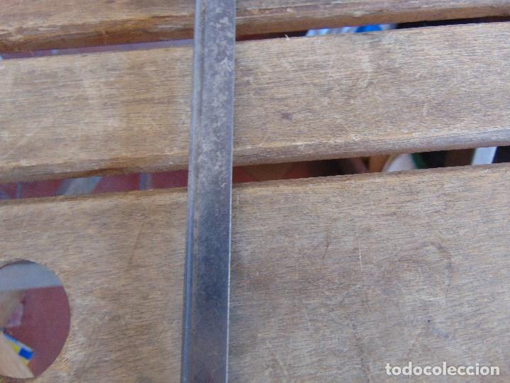Antigüedades: ANTIGUO BASTON CON MANGO DE MADERA ESTOQUE Y CUERPO DE CAÑA - Foto 22 - 113074367