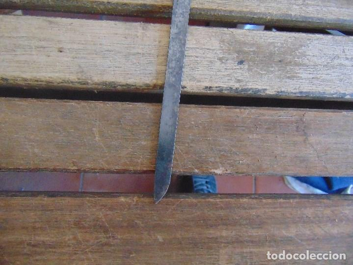Antigüedades: ANTIGUO BASTON CON MANGO DE MADERA ESTOQUE Y CUERPO DE CAÑA - Foto 23 - 113074367