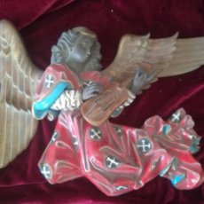 Antigüedades: GRAN ANGEL PORCELANA ALGORA 52CM. Lote 113081710