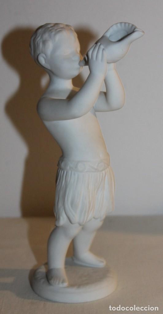 Antigüedades: CONJUNTO DE 5 FIGURAS NIÑOS MÚSICOS EN PORCELANA BIDASOA PERFECTOS SIN FALTAS - Foto 6 - 113085355