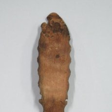 Antigüedades: ANTIGUA CUCHARA PASTORIL DE MADERA. Lote 113137807