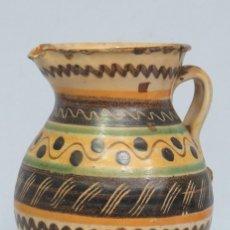 Antigüedades: ANTIGUA JARRA DE CERAMICA. PUENTE DEL ARZOBISPO. SIGLO XVIII.XIX. Lote 113167007