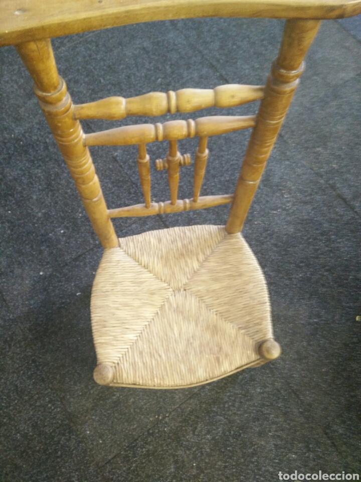 Antigüedades: Reclinatorio de madera - Foto 3 - 113173726