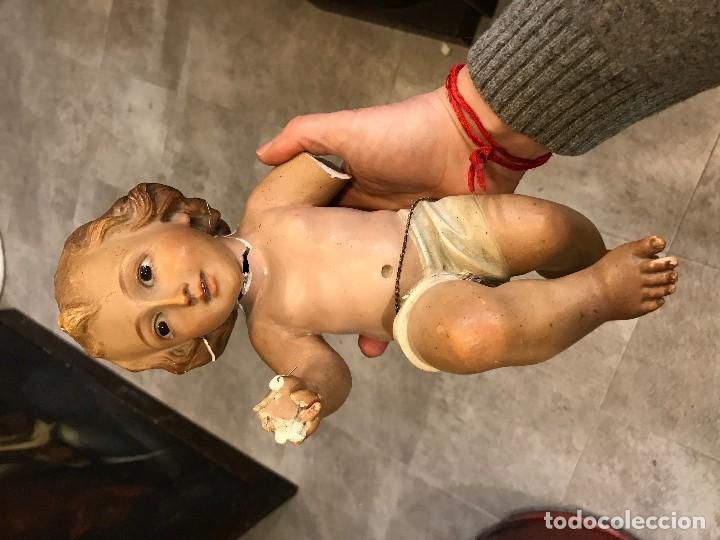 Antigüedades: niño jesus olot para restaurar - Foto 2 - 113184499