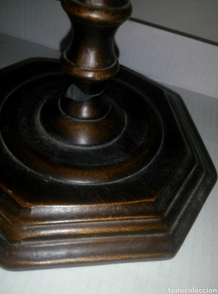 Antigüedades: Candelabro resina - Foto 2 - 113186542