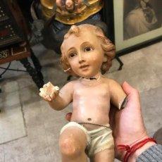 Antigüedades: NIÑO JESUS OLOT PARA RESTAURAR. Lote 113184499