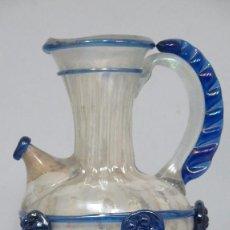 Antigüedades: GRAN JARRA DE VIDRIO SOPLADO. GORDIOLA. MALLORCA. SERIE EXCAVACIONES. Lote 113205687