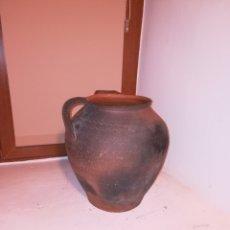 Antigüedades: BONITO CANTARO ANTIGUO.COCIDO EN HORNO LEÑA. Lote 113215276