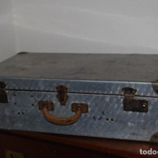 Antigüedades: ORIGINAL MALETA DE METAL - FRANCIA - AÑOS 40. Lote 113224447