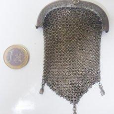 Antigüedades: ANTIGUO BOLSO MONEDERO DE MALLA. AÑOS 20-30- ÉPOCA MODERNISTA.. Lote 113234611