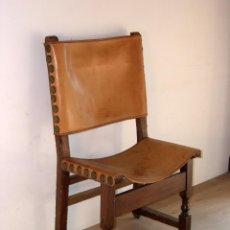 Antigüedades: SILLA FRAILERO CATALÁN S. XVIII. Lote 113235491