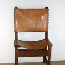 Antigüedades: SILLA FRAILERO CATALÁN S. XVIII. Lote 113235687
