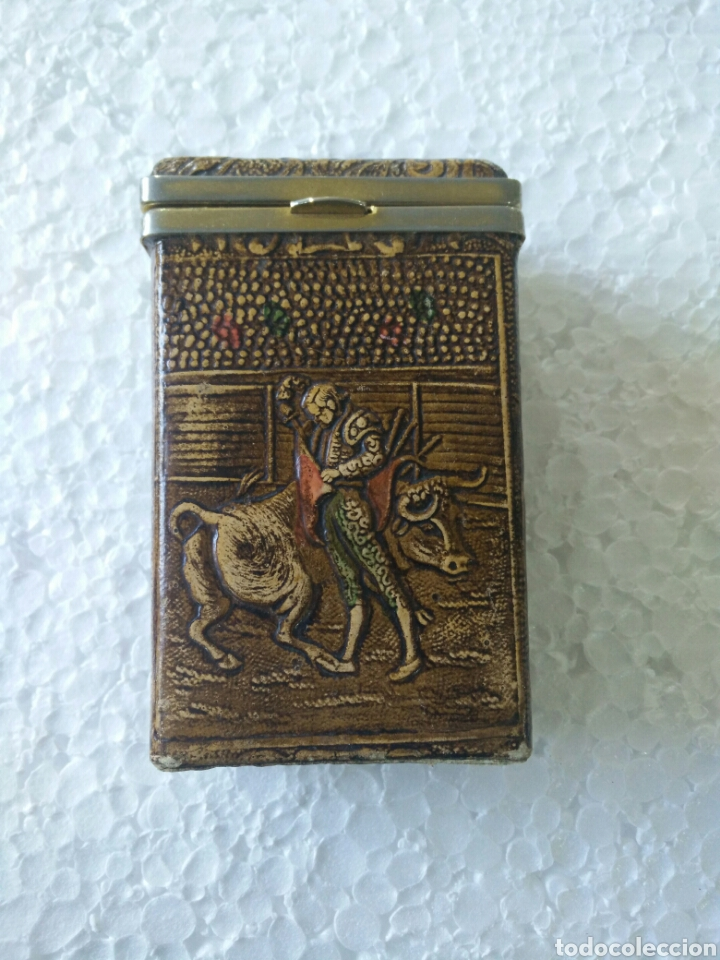 PITILLERA CON TORERO (Antigüedades - Varios)