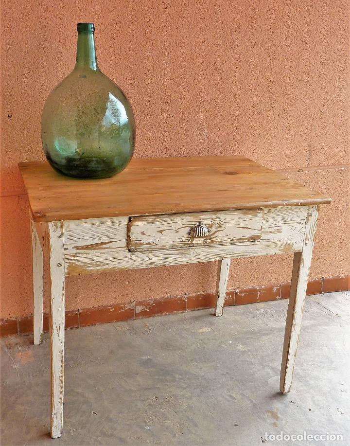 Mesas De Cocina Antiguas De Madera - Diseño Belle Maison - Firmix.net