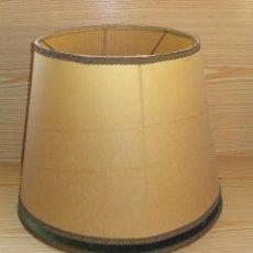 Antigüedades: GRAN PANTALLA PARA LAMPARA.. Lote 113248119